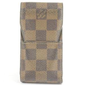 Louis Vuitton Bags - Louis Vuitton Damier Ebene Mobile Etui Phone and
